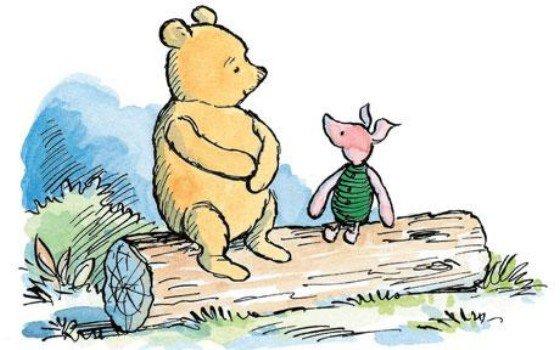 pooh original cartoon - Google Search