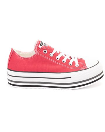 Converse Chuck Taylor All Star Layer Ox Canvas Sneakers