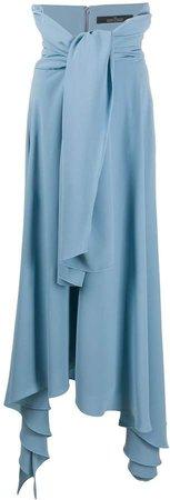 Tie-Waist Waterfall Skirt