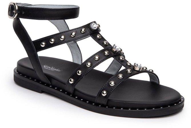 Studded Strappy Gladiator Sandal