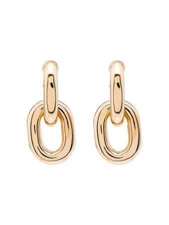 Paco Rabanne Chain Link Earrings - Farfetch