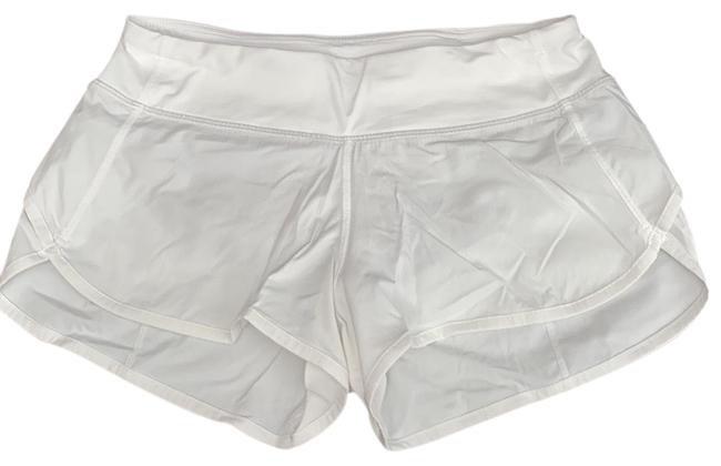 Lululemon White Speed Activewear Bottoms Size 4 (S) - Tradesy