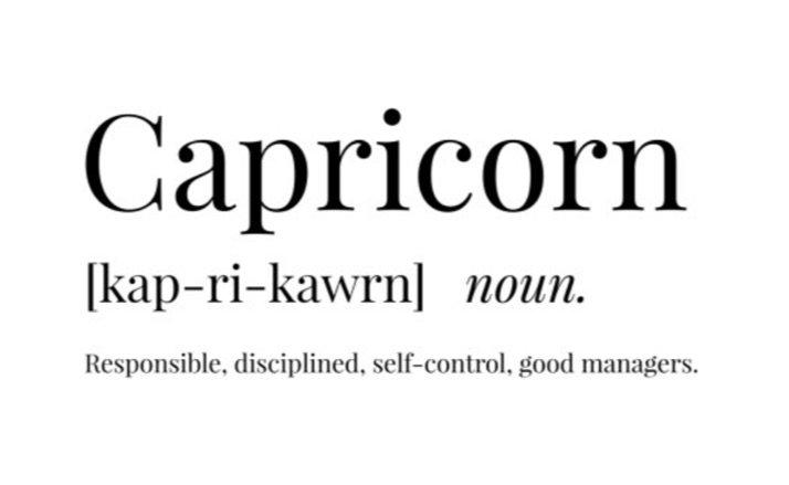 Capricorn definition