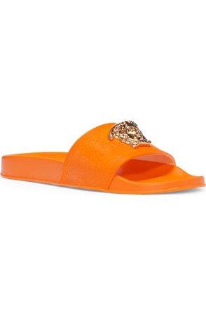 Versace Palazzo Medusa Slide Sandal (Women)   Nordstrom