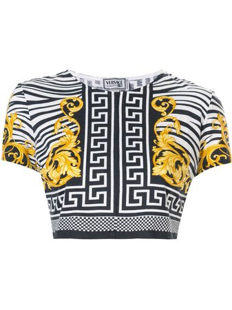 Versace Greek Key Baroque T-Shirt