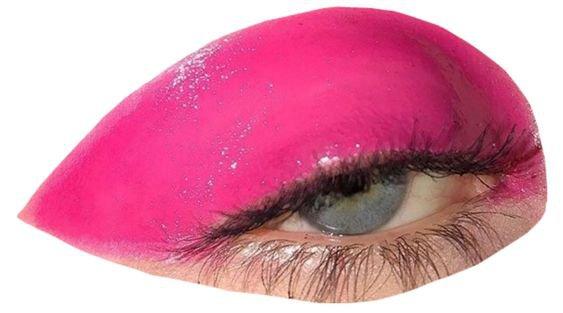 pink eye png filler