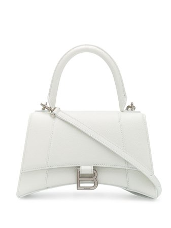 Balenciaga Small Hourglass Top Handle Bag 5935461IZHY White | Farfetch