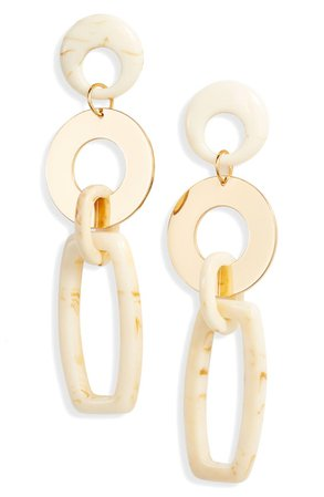 Ettika Link Drop Earrings | Nordstrom