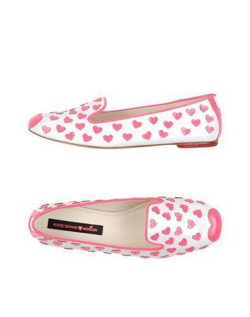 Katie Grand Loves Hogan Loafers - Women Katie Grand Loves Hogan Loafers online on YOOX United States - 11142955SD