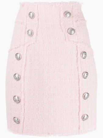 Balmain Tweed Pencil Skirt