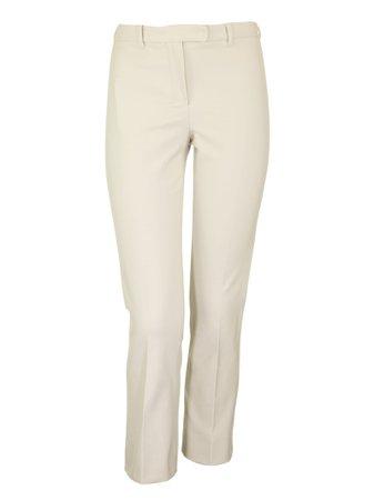 Max Mara Umanita Slim-fit Cropped Stretch-twill Trousers
