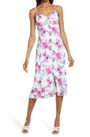 Lulus Now & Fleur Ever Button Dress | Nordstrom