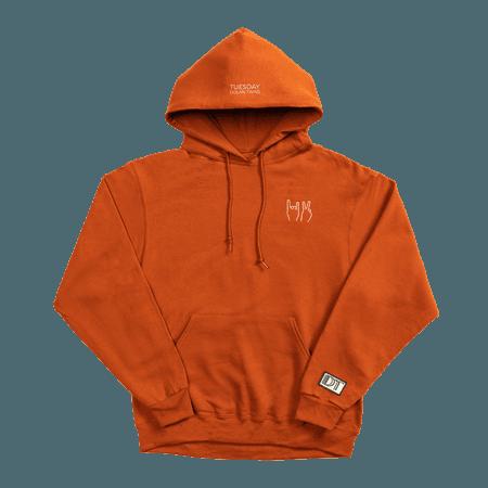 DT Hoodie (orange)