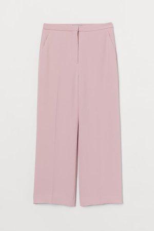 Ankle-length Suit Pants - Light pink - Ladies   H&M US