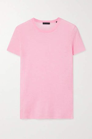 Cashmere T-shirt - Pink