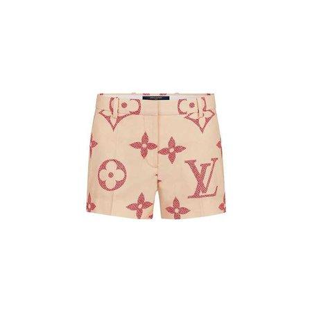 Monogram Giant Print Shorts - Ready-to-Wear   LOUIS VUITTON ®