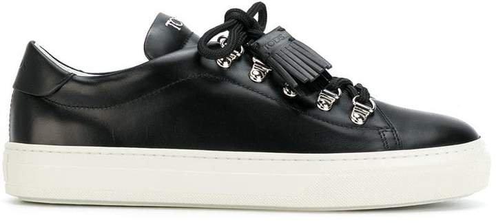 tassel trim sneakers