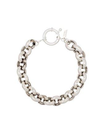 Loren Stewart sterling silver link bracelet - FARFETCH