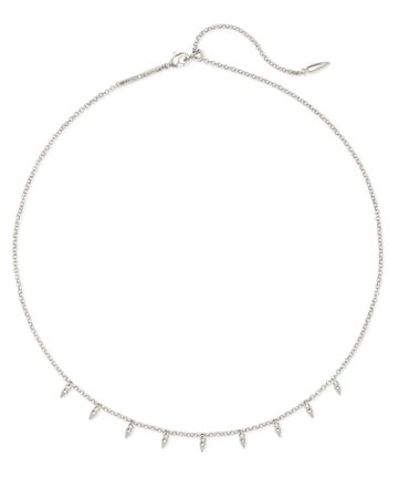 Addison Choker Necklace in Silver | Kendra Scott