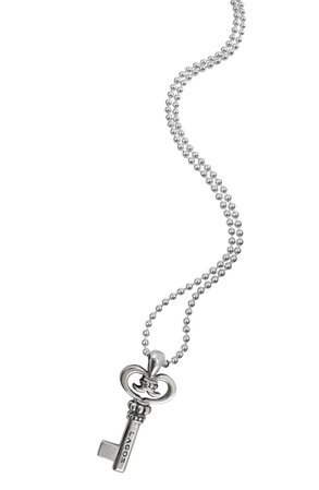 LAGOS Sterling Silver Key Long Strand Pendant Necklace | Nordstrom