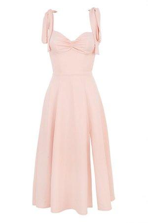 BLUSH PINK MIDI SUNDRESS – CB Dresses – Online Shop