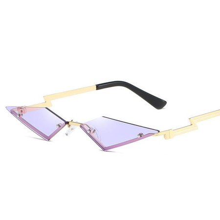Lightning Rimless Sunglasses – algrandeboutique