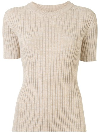 Anna Quan Bebe short-sleeved Knitted Top - Farfetch