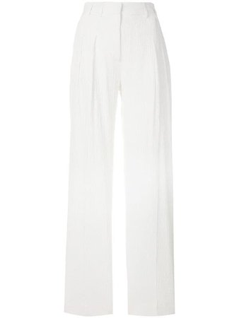 Victoria Victoria Beckham Wide Leg Trousers Ss18 | Farfetch.com