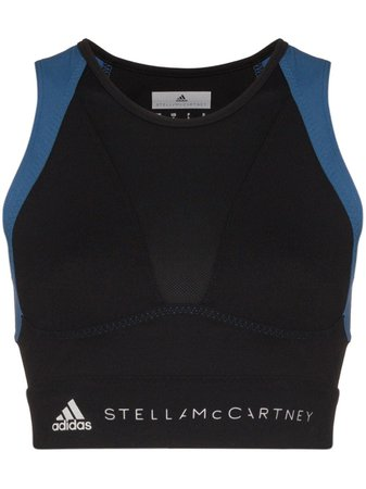 Adidas By Stella McCartney Blusa Cropped Esportiva x Stella McCartney - Farfetch