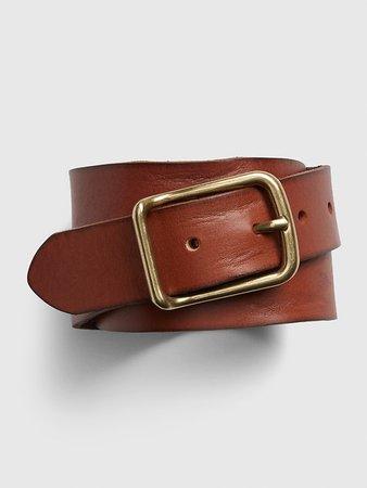 Classic Leather Belt | Gap