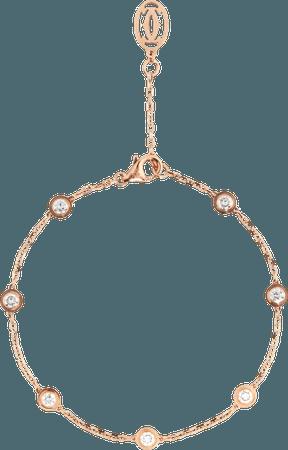 CRB6032900 - Diamants Légers bracelet - Pink gold, diamonds - Cartier