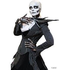 skellington costume