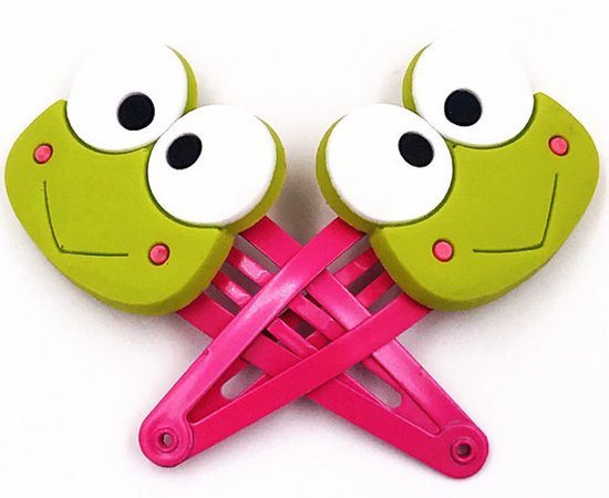 Frog Hair Clips