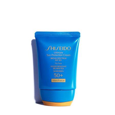 Travel Size Ultimate Sun Protection Cream WetForce | SHISEIDO