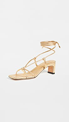 Yuul Yie Crystal Lace Up Sandals | SHOPBOP