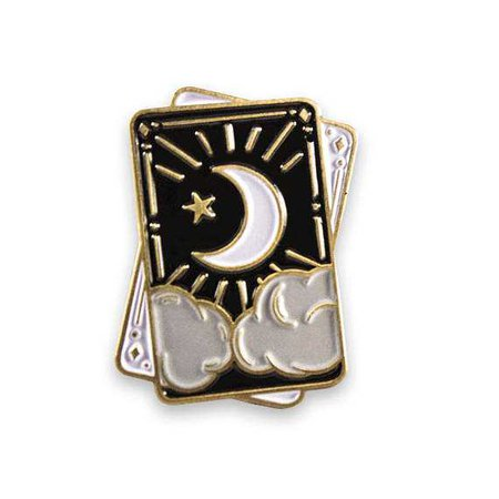 Halloween Witchy Tarot & Crystal Enamel Pin Set