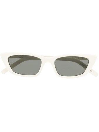 Saint Laurent Eyewear New Wave SL Sunglasses - Farfetch