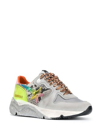 Golden Goose Running Sole low-top Sneakers - Farfetch