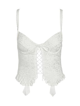 Sophie Eyelet Bustier - For Love & Lemons - vs