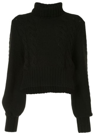 Alice McCall Constance lips embroidered jumper