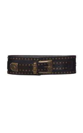 Studded Leather Belt by Etro | Moda Operandi