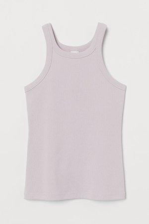 Ribbed Tank Top - Pink