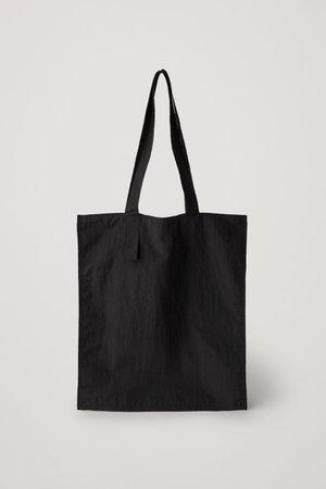 PACKABLE TOTE BAG - black - Bags - COS WW