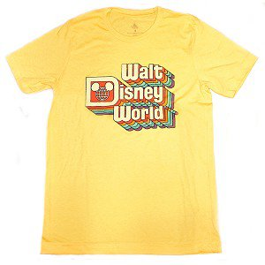 Retro Rainbow Walt Disney World Tee