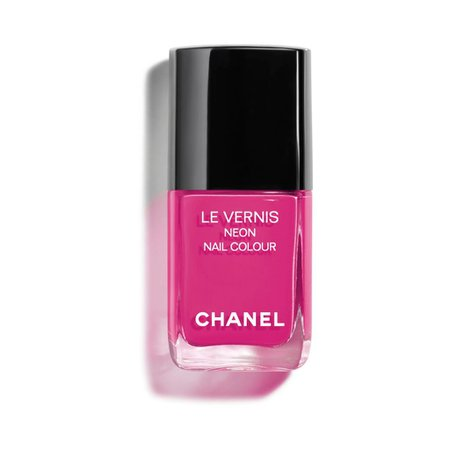 pink chanel nail polish