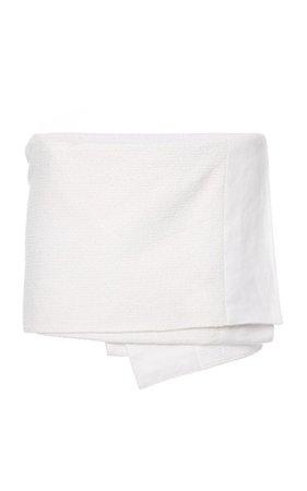 Asymmetric Wrap-Effect Cotton-Blend Mini Skirt By Prada | Moda Operandi