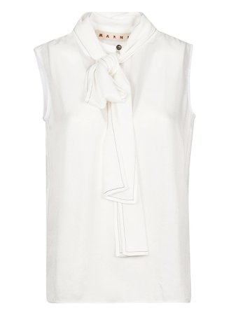 Marni Tie-neck Tank Top