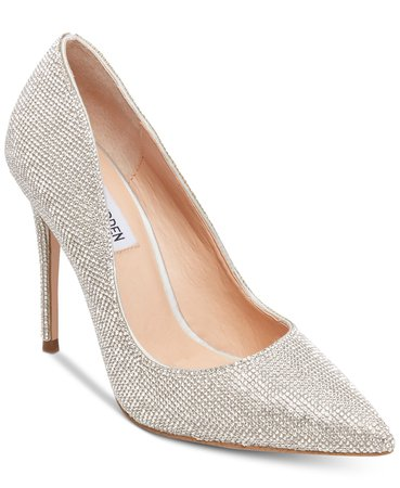 Steve Madden Daisie Pumps & Reviews - Heels & Pumps - Shoes - Macy's silver