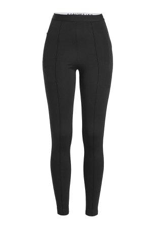 Jersey Crepe Legging Pants Gr. FR 36