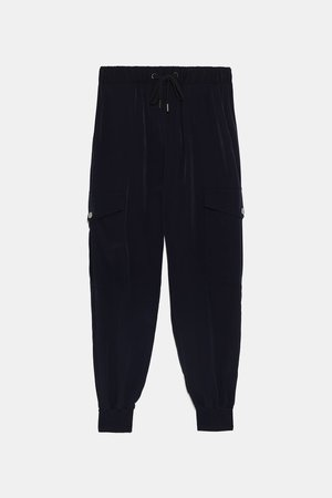 JOGGING PANTS WITH POCKETS - View all-PANTS-WOMAN | ZARA United States